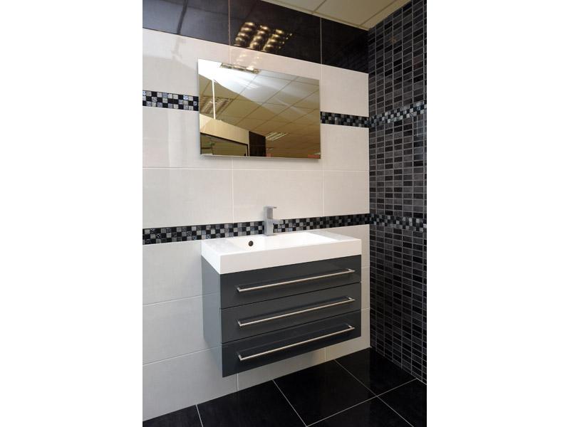 Salle De Bain Blanc Et Marron Salle de bain beige marron CARRELAGE