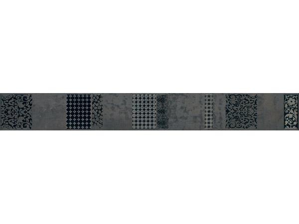 Carrelage ceramic 39 ardenne bosco iron listel guggenheim for Frise carrelage sol interieur