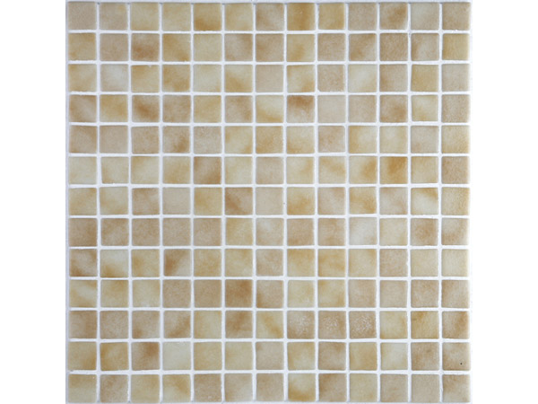 Carrelage ceramic 39 ardenne 2576b antiderapant cr me 2 5x2 5 for Carrelage douche antiderapant